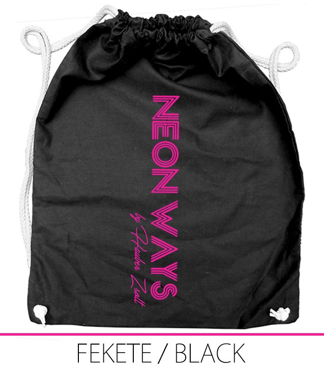 BACKPACK NEON WAYS BLACK